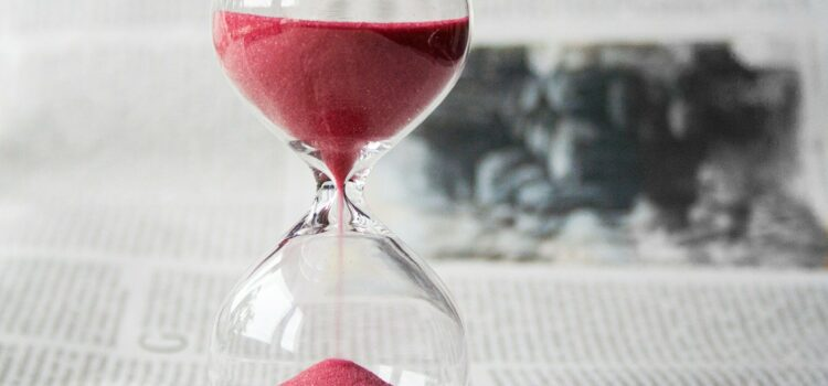 Waar blijft de tijd